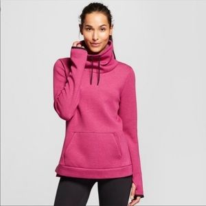 Champion C 9 Fuschia Cowl Neck Pullover